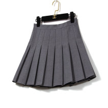 skirt Spring 2021 S,M,L,XL Black, gray, white Short skirt Versatile High waist Pleated skirt Solid color Type A 25-29 years old 51% (inclusive) - 70% (inclusive) other LEEYABEAUTY cotton Pleating, zipper, stitching 201g / m ^ 2 (including) - 250G / m ^ 2 (including)