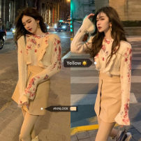 Fashion suit Spring 2021 Average size Sweater, skirt s, Skirt M 18-25 years old 51% (inclusive) - 70% (inclusive) cotton