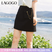 skirt Summer 2021 155/S/36 160/M/38 165/L/40 170/XL/42 Black (W1) Short skirt High waist A-line skirt Type A 25-29 years old 81% (inclusive) - 90% (inclusive) Lagogo / Lagu Valley polyester fiber Pocket zipper Same model in shopping mall (sold online and offline)