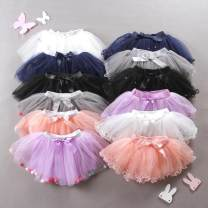skirt 80cm,90cm,100cm,110cm,120cm,130cm,140cm Other / other female Cotton 95% other 5% No season skirt princess Solid color Cake skirt cotton Class A
