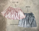 skirt [5] height 82-92cm, [7] height 92-102cm, [9] height 102-112cm, [11] height 112-122cm, [13] height 122-132cm, [15] height 132-142cm, [17] height 142-152cm Other / other female Other 100% spring and autumn skirt Korean version Solid color Pleats flannelette Class B