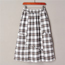 skirt Autumn 2020 Average size 1 black and white 25-29 years old World works
