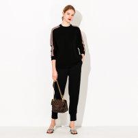 Women's large Spring 2021 Unisex Black XL (size 40), 2XL (size 42), 3XL (size 44), 4XL (size 46), 5XL (size 48), 6xl (size 50), l (size 38) Sweater / sweater singleton  commute Socket Korean version CY-0217 April 9th 25-29 years old