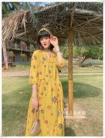 Dress Spring 2021 yellow S,M,L