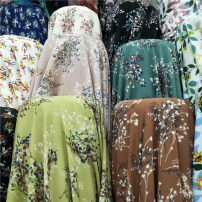 Fabric / fabric / handmade DIY fabric chemical fiber Pickled vegetables are green, black, white, ground, blue, green, and coffee. Loose shear rice Plants and flowers printing and dyeing clothing Japan and South Korea Cloth industry in Shang and Zhou Dynasties JY1.10-1