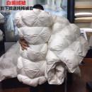 Down / duvet 160x210cm 200X230cm 220x240cm Одеяло Зимний сезон Продукт первого класса ROSUN / музыка еще Белый гусиный пух хлопок 95% (включительно) -100% (без учета) подбивка Satin Удержание тепла 100%