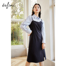 Dress Winter 2020 Cangqing spot Cangqing presale Cangqing presale 1 155/80A/S 160/84A/M 165/88A/L Mid length dress singleton  Sleeveless commute other High waist Solid color zipper A-line skirt other 25-29 years old Type X Eifini  lady 1B9997381 51% (inclusive) - 70% (inclusive) polyester fiber