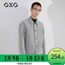 Jacket GXG Fashion City grey 165/S,170/M,175/L,180/XL,185/XXL,190/XXXL easy Other leisure autumn GB121037E Polyester 100% Long sleeves Lapel youth routine Single breasted 2020 polyester fiber