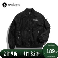 Jacket gxg.jeans Youth fashion black 165/S,170/M,175/L,180/XL,185/XXL standard Other leisure winter Polyamide fiber (nylon) 100% Long sleeves tide youth