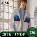 Jacket GXG Youth fashion white 165/S,170/M,175/L,180/XL,185/XXL,190/XXXL routine standard Other leisure spring GY121608A Polyamide fiber (nylon) 100% Long sleeves Wear out Hood Youthful vigor youth routine Zipper placket Rib hem Closing sleeve other nylon More than 95%