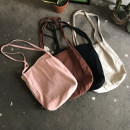 Bag The single shoulder bag cotton other Other / other Light hemp light hemp with black dots, mind taking black coffee pink with caution brand new like a breath of fresh air in soft Magnetic buckle yes Solid color Double root One shoulder hand Yes Bucket shaped Soft handle canvas