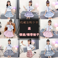 Dress female Other / other Other 100% summer princess Short sleeve lattice other Pleats Class B Chinese Mainland Zhejiang Province