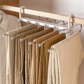 Pants rack White upgrade (6-in-1 pants rack), gray upgrade (6-in-1 pants rack), all stainless steel (5-in-1 pants rack), all stainless steel (6-in-1 pants rack), with clip skirt rack (6-in-1 pants rack), white (5-in-1 pants rack), magic clothes rack (6-in-1 racks) One, two, four Organize / store 30cm