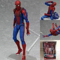 Doll / Ornament / hardware doll goods in stock Figma spider man Movies U.S.A The height is about 15cm PVC Collect landscape ornaments and desktop ornaments The joints are movable Sanyang