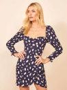 Dress Autumn 2020 Navy Blue XS,S,M,L