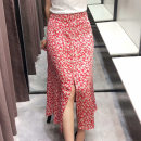 skirt Summer 2020 XS,S,M,L Picture color Mid length dress commute High waist A-line skirt Decor Type A 18-24 years old 51% (inclusive) - 70% (inclusive) other Other / other acrylic fibres Korean version