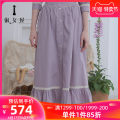 skirt Summer 2021 155/S 160/M 165/L Ash purple longuette commute Natural waist A-line skirt other Type A 25-29 years old FBAFXSS01 More than 95% Lady house cotton Embroidered lace lady Cotton 100% Same model in shopping mall (sold online and offline)