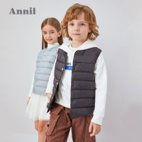 Down vest 80cm,90cm,100cm,110cm,120cm,130cm,140cm,150cm,160cm,170cm,180cm Annil / anel other White duck down Class C Polyamide fiber (nylon) 100% winter 90% neutral Polyamide fiber (nylon) 100%