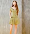 short coat Summer of 2019 S,M,L,XL Bean green, bean green 2