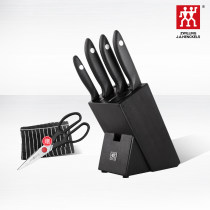 A complete set of kitchen knives 60 & deg; and below Shuangliren Eighteen yes 5 pieces 304 stainless steel 32871-010-722 Point s Silver Series (ELM turret) Chinese Mainland Chinese style public no 3.05KG Daily gift giving Shuangliren 32871-010-722