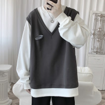 Sweater Youth fashion Zijun Black, blue, dark gray, > Click to view size < (select color in front) M,L,XL,2XL other Socket routine autumn easy leisure time teenagers tide routine other other other No iron treatment