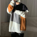 T-shirt / sweater Zijun Youth fashion Black yellow, gray green, yellow orange, > Click to view size < (select color in front) M,L,XL,2XL routine Socket Crew neck Long sleeves winter easy leisure time tide teenagers routine stripe No iron treatment Regular wool (10 stitches, 12 stitches)