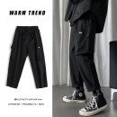 Casual pants Zijun Youth fashion Black, gray, green, > Click to view size < (select color in front) M,L,XL,2XL routine trousers Other leisure easy Micro bomb spring teenagers tide 2020 Medium low back Little feet Overalls Pocket decoration No iron treatment other