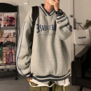 Sweater Youth fashion Zijun Gray, blue, green, > Click to view size < (select color in front) M,L,XL letter Socket routine other autumn easy leisure time teenagers tide routine printing No iron treatment