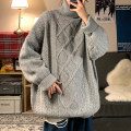 T-shirt / sweater Zijun Youth fashion White, gray, blue, pink, > Click to view size < (select color in front) M,L,XL,2XL thickening Socket Crew neck Long sleeves winter Straight cylinder 2021 leisure time like a breath of fresh air teenagers routine Solid color No iron treatment Color contrast