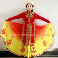 National costume / stage costume Winter of 2018 As shown in the figure, it is not refundable S,M,L,XL,XXL,XXXL WZ18051 Wonderful dance