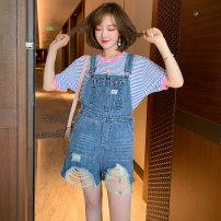 Fashion suit Summer 2020 S,M,L,XL,XXL,XXXL Blue white stripe + denim blue miuco T0865P0413