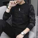 T-shirt Fashion City routine M L XL 3XL XXL 4XL Chylirn / Qian Liang Long sleeves Crew neck Self cultivation daily spring DDG# Cotton 95% polyurethane elastic fiber (spandex) 5% teenagers routine tide Cotton wool Spring of 2019 Alphanumeric printing cotton 3D effect No iron treatment More than 95%