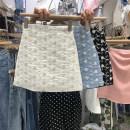 skirt Summer 2021 S,M,L,XL White, blue, black Short skirt High waist A-line skirt Broken flowers 31% (inclusive) - 50% (inclusive) other