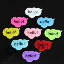 Other DIY accessories Other accessories other 0.01-0.99 yuan Red pink white yellow red purple green blue brand new Fresh out of the oven Elegant Alphabet card