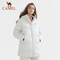 Down jacket Camel male S,M,L,XL,XXL,XXXL 1001-1500 yuan White Velvet Autumn 2020 Medium length Windproof, warm 200g (including) - 250g (excluding) 80% China polyester fiber polyester fiber