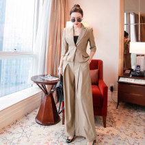Fashion suit Spring 2021 S,M,L khaki 25-35 years old