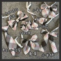 Bow tie Flat angle, small double layer, rabbit ear, no tie, small long handle, large intestine hairpin, big bow hairpin, star buckle bag [can be hung on bag], set small hairpin [a set of three] lattice