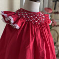 Dress Red dress (in stock) female Other / other 80cm,90cm,100cm,110cm,120cm,130cm Other 100% summer princess Short sleeve Solid color other A-line skirt 12 months, 3 years, 6 years, 18 months, 9 months, 2 years, 5 years, 4 years Chinese Mainland