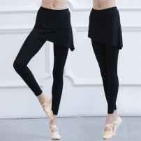 Aerobics lower garment Black (Capris), black (Capris) S,M,L,XL,XXL Art of autumn female W2862/W2863 other
