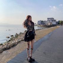 skirt Summer 2020 S,M,L Black, white Short skirt commute Natural waist A-line skirt Solid color Type A 18-24 years old D3140 51% (inclusive) - 70% (inclusive) other LADIES FIRST polyester fiber Korean version 201g / m ^ 2 (including) - 250G / m ^ 2 (including)