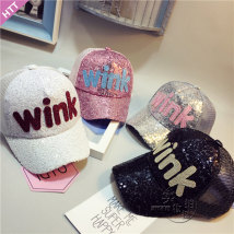 Hat Subject to head circumference (49-53cm) Wink Sequin mesh cap (white) wink Sequin mesh cap (black) wink Sequin mesh cap (silver) wink Sequin mesh cap (pink) Reference age (2-7 years) neutral peaked cap dome Travel other other