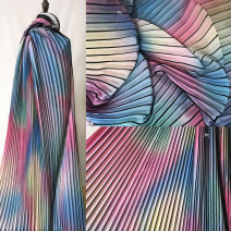 Fabric / fabric / handmade DIY fabric Others Loose shear stripe printing and dyeing clothing Countryside Ingenuity