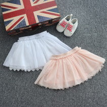 skirt 60cm/3M,67cm/6M,71cm/9M,81cm/18M,86cm/2T,94cm/3T,74cm/12M 1 # white, 2 # Pink Other / other female Cotton 50% polyethylene terephthalate (polyester) 50% summer skirt princess Pleats cotton AA23-1844 other