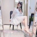 Dress Spring 2021 white XS,S,M,L BB-21091
