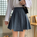 skirt Autumn 2020 S,M,L Black, haze blue Short skirt Versatile High waist A-line skirt Solid color Type A Under 17 6610-rp2 914 71% (inclusive) - 80% (inclusive) Other / other polyester fiber