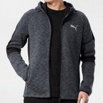 Sports jacket / jacket Puma / puma male S (adult), m (adult), l (adult), XL (adult), XXL (adult) 588659-01 * * Spring 2021 Hood zipper Brand logo Sports & Leisure keep warm Sports life