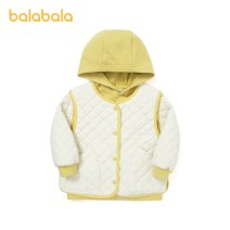 Cotton padded jacket neutral nothing other Bala Milk white 10503, pink 60068 90cm,100cm,110cm,120cm,130cm routine Single breasted leisure time There are models in the real shooting Solid color Cotton polyester other other Cotton 85.8% polyester 14.2% Two, three, four, five