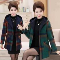 woolen coat Spring 2021 XL suggests 95-108kg, XXL 108-125kg, 3XL 125-138kg, 4XL 138-150kg, 5XL 150-165kg Single hooded orange, single hooded Navy, single hooded green other 81% (inclusive) - 90% (inclusive) routine Long sleeves Hood lattice Button