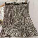 skirt Spring 2021 Average size 8-black, 6-coffee, 7-apricot Mid length dress Versatile Pleated skirt 18-24 years old A280247 30% and below other other