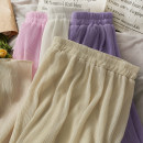 skirt Spring 2021 Average size Black, purple, apricot, white, pink Mid length dress commute High waist A-line skirt Type A 18-24 years old A280321 30% and below other other Korean version